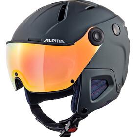 Alpina Attelas Visor QVM - Casco de bicicleta - negro